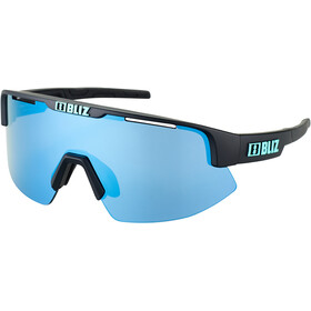 Bliz Matrix Small Nano Optics Nordic Light Brille matte black/smoke/icy blue multi